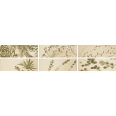 Декоративная плитка Iris Aura Dec. Moss Glossy 10x30 см, толщина 7 мм