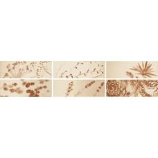 Декоративная плитка Iris Aura Dec. Spice Glossy 10x30 см, толщина 7 мм