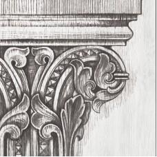 Декоративная плитка Iris Frenchwoods Capital Cork Formella 20x20 см, толщина 10 мм