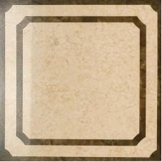 Декоративная плитка Italon Charme Amber Inserto Frame lap 60x60 см, толщина 10 мм