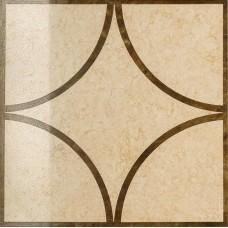 Декоративная плитка Italon Charme Amber Inserto Loop lap 60x60 см, толщина 10 мм