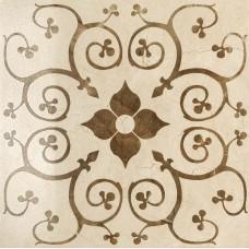 Декоративная плитка Italon Charme Cream Inserto Bouquet lap 60x60 см, толщина 10 мм