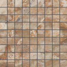 мозаика Kerranova Premium Marble Brown 30x30 см, толщина 10 мм