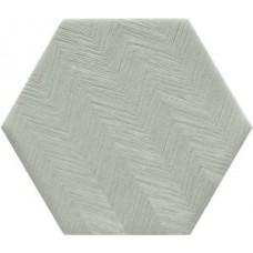 Декоративная плитка Natucer Art Monet Hex Aluminium 10 11.4x13 см
