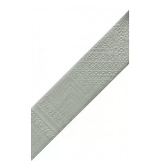 Декоративная плитка Natucer Art Picasso Espiga Aluminium 10 (Left) 16.3x31.5 см