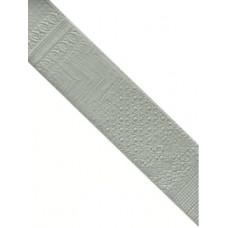 Декоративная плитка Natucer Art Picasso Espiga Aluminium 10 (Right) 16.3x31.5 см