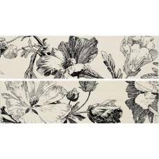 Декоративная плитка Naxos Euphoria Listello Campanula Mix 12.5x45 см, толщина 7.5 мм