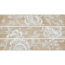 Декоративная плитка Naxos Euphoria Listello Stencil Mix 8x45 см, толщина 7.5 мм