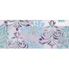 Декоративная плитка Novabell Milady Wallpaper Lilac 25x60 см, толщина 10 мм