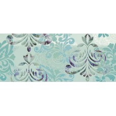 Декоративная плитка Novabell Milady Wallpaper Water Green 25x60 см, толщина 10 мм