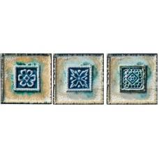 Декоративная плитка Pastorelli Marmi Antichi Decoro Set Incas 10x10 см