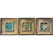 Декоративная плитка Pastorelli Marmi Antichi Decoro Set Maya 10x10 см