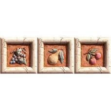 Декоративная плитка Pastorelli Marmi Antichi Formella Set Bacco 10x10 см