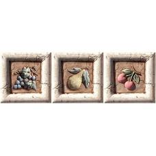 Декоративная плитка Pastorelli Marmi Antichi Formella Set Venere 10x10 см