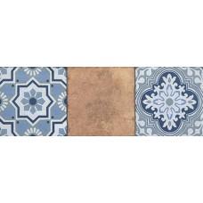 Фоновая плитка Plaza Anexus Blue Mix 19x57 см