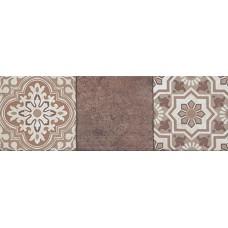 Фоновая плитка Plaza Anexus Brown Mix 19x57 см