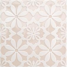 Декоративная плитка Quintessenza Genesi26 Greige Lucido Deco 3 13.2x13.2 см, толщина 10 мм
