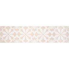 Декоративная плитка Quintessenza Genesi26 Greige Lucido Deco 3 6.5x26.6 см, толщина 10 мм