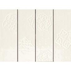 Декоративная плитка Ragno Brick Glossy Decoro Beige 10x30 см, толщина 8.5 мм
