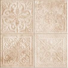 Декоративная плитка Realonda Reims Reims Beige Decor 44.2x44.2 см