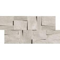 Декоративная плитка Rex Ardoise Modulo Muretto 3d Gris 30x30 см, толщина 6 мм