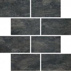 Декоративная плитка Rex Ardoise Noir MuReto 30x30 см, толщина 6 мм