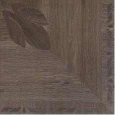 Декоративная плитка Roberto Cavalli Rinascimento Floreale Mogano Nat. Rett. 50x50 см, толщина 10.5 мм