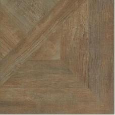 Декоративная плитка Roberto Cavalli Rinascimento Intarsio Noce Rett. 50x50 см, толщина 10.5 мм