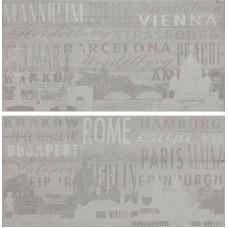 Декоративная плитка Rondine Beton Age Citta Mix Gris 30x60 см, толщина 9.5 мм