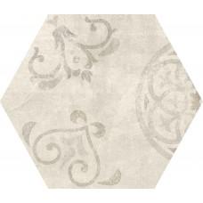 Декоративная плитка Rondine Icon Esagona Tradition Almond 40x34.6 см, толщина 10 мм