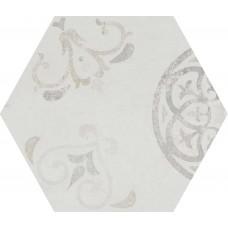 Декоративная плитка Rondine Icon Esagona Tradition Light 40x34.6 см, толщина 10 мм