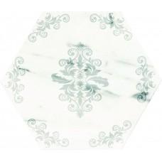 Декоративная плитка Serenissima Canalgrande Esagona Flower 24x27.7 см, толщина 10 мм