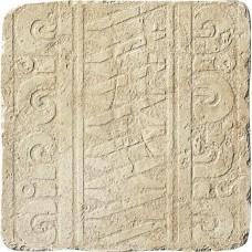Декоративная плитка Settecento Maya Azteca Fascia Yucatan Avorio 32.7x32.7 см, толщина 10 мм