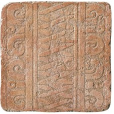 Декоративная плитка Settecento Maya Azteca Fascia Yucatan Granato 32.7x32.7 см, толщина 10 мм