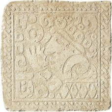 Декоративная плитка Settecento Maya Azteca Inserto Yucatan A Avorio 32.7x32.7 см, толщина 10 мм