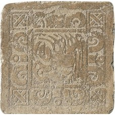 Декоративная плитка Settecento Maya Azteca Inserto Yucatan B Bruno 32.7x32.7 см, толщина 10 мм