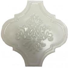 Декоративная плитка Tonalite Arabesque Satin Decor Talco 14.5x14.5 см, толщина 7 мм