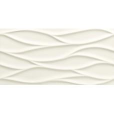 Декоративная плитка Tubadzin All In White White 3 Structure 29.8x59.8 см, толщина 12.8 мм