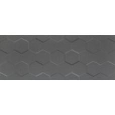 Декоративная плитка Tubadzin Elementary Graphite Hex 29.8x74.8 см, толщина 10 мм