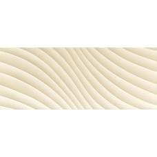 Декоративная плитка Tubadzin Elementary Ivory Wave 29.8x74.8 см, толщина 10 мм