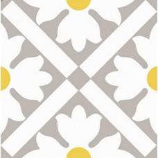 Декоративная плитка Vallelunga Colibri Colibri Modulo B6 Grigio 12.5x12.5 см, толщина 8 мм