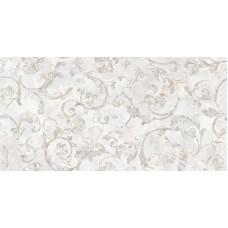 Декоративная плитка Versace Emote Onice Bianco Decoro Floreale 39x78 см, толщина 10 мм