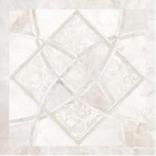 Декоративная плитка Versace Emote Onice Bianco Intarsio 78x78 см, толщина 10 мм