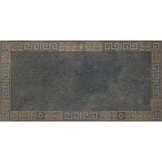 Декоративная плитка Versace Greek Cassettone Antracite Oro 40x80 см, толщина 10 мм