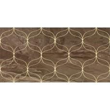 Декоративная плитка VitrA Ethereal Gold Geometric Decor Soft Brown Glossy 30x60 см, толщина 9 мм